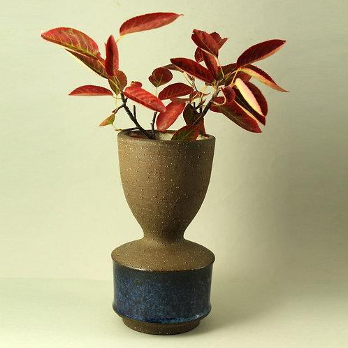 Helge Bjufstrom, Michael Andersen, Denmark,  Stoneware Vase