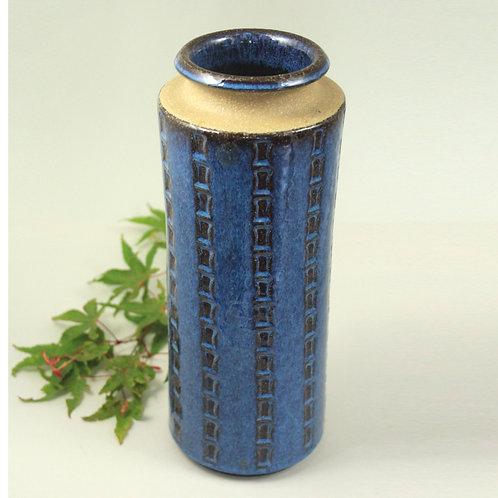 Tall Stoneware Bamboo Vase, Maria Philippi, Soholm, Denmark
