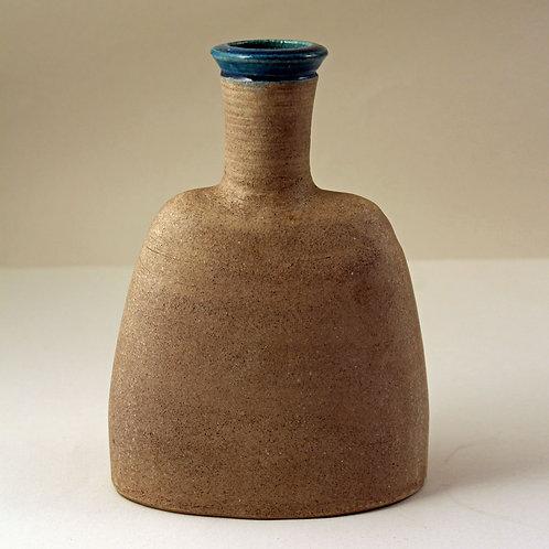 Nils Kahler for Herman Kahler, Denmark. Stoneware Bottle/Vase, Mid Century