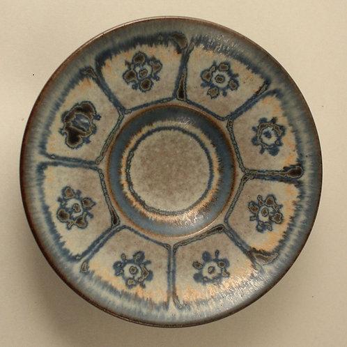 Marianne Starck, Michael Andersen, Denmark. Stoneware Dish