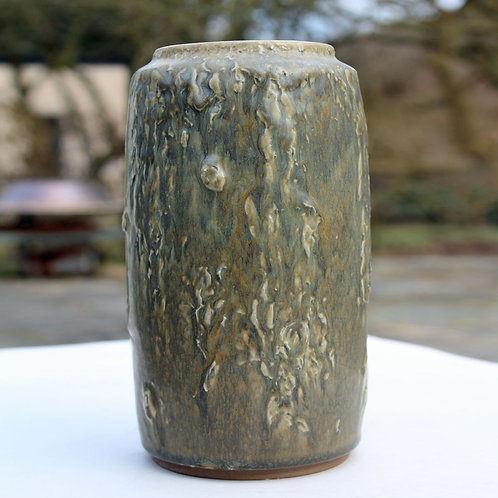 Axel Bruel Nymølle, Denmark. Large Textured Vase