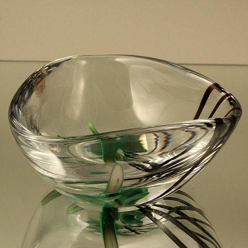 Vicke Lindstrand Art Glass Studio Bowl, Kosta