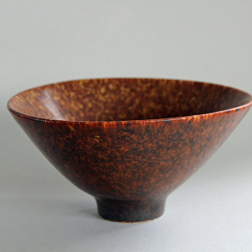Carl Harry Stalhane, Rorstrand, Sweden. Stoneware Bowl
