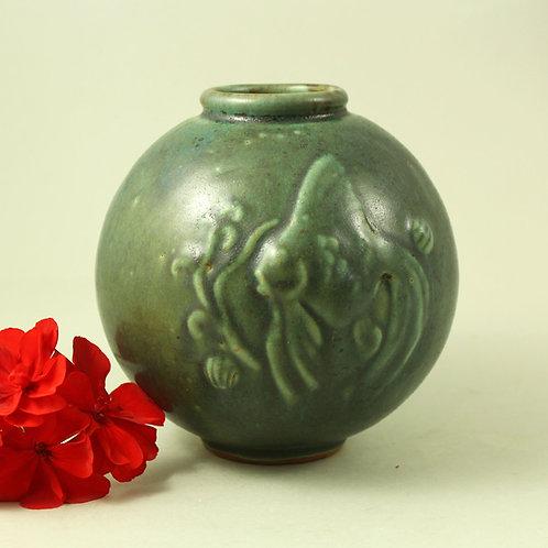 Arne Bang, Denmark. Early Studio Stoneware Vase