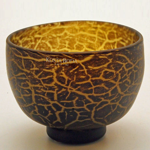 Ulrica-Hydman Vallien, Kosta Boda. Art Glass Bowl