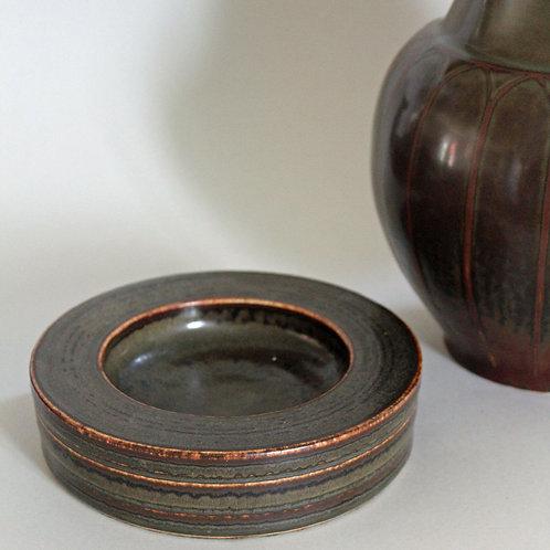 Stoneware Bowl, Valdemar Petersen, Bing and Grondahl