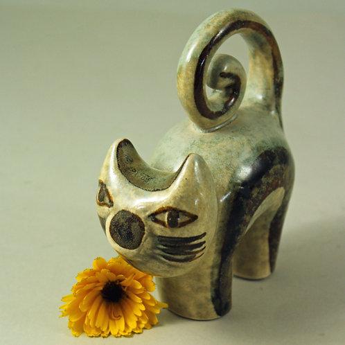 Cat Figurine, Joseph Simon, Soholm, Denmark