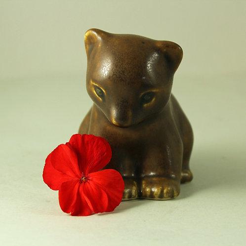 Knud Basse, Own Studio, Denmark. Bear Cub (Medium Size)