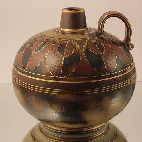 Stoneware Flambe Vase, Gunnar Nylund, Rorstrand