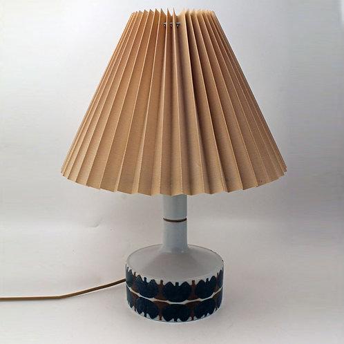 Ellen Malmer, Royal Copenhagen. Faiance Lamp Base.