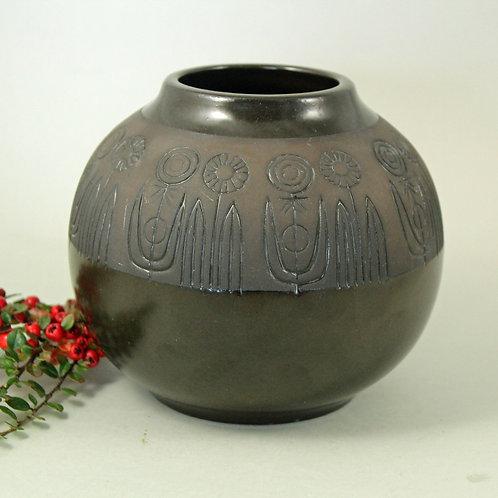 RABATT Stoneware vase Upsala-Ekeby, Sweden