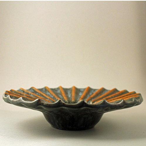 Michael Andersen, Bornholm, Denmark. Art Deco Stoneware Bowl
