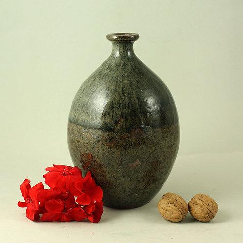 Rolf Palm, Molle, Hoganas, Sweden. Unique Stoneware Vase