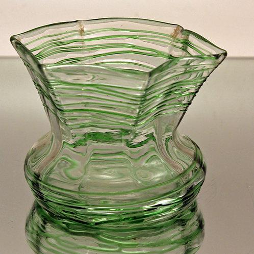 Palme König Art Nouveau Vase, Bohemia
