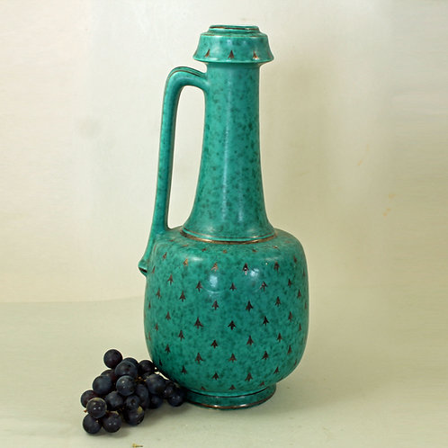 Argenta Handled Vase , Wilhelm Kage, Gustavsberg