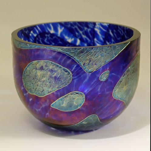 Michael Ahlefeldt-Laurvig. Glass Bowl, Own Studio