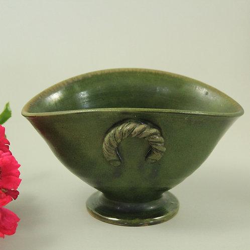 Hans Peter Knudsen, Præstø Keramik, Denmark. Antique Bowl