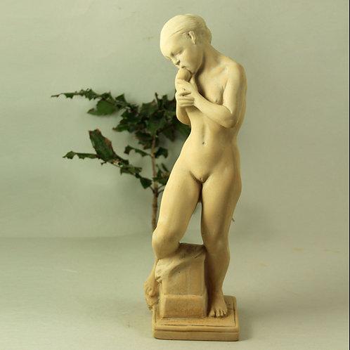 ,Kai Nielsen, Kahler, Denmark. Eve and the Apple Terracotta Sculpture