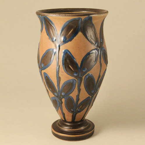 Art Pottery Vase, Herman H.C. Kahler, Denmark