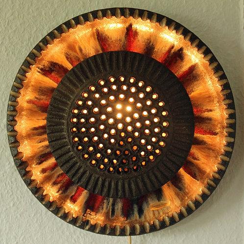 Lovemose Keramik, Denmark. Mid Century Ceramic Sconce Lightt