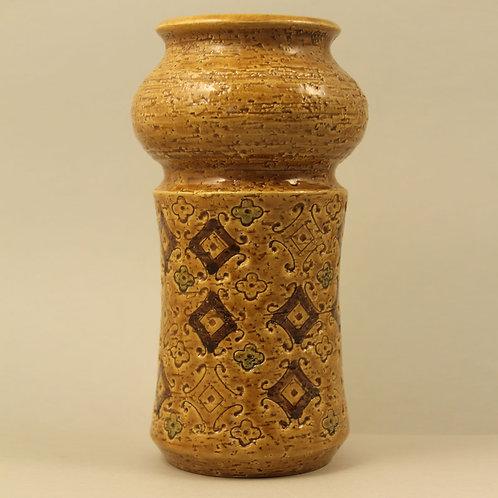Aldo Londi, Bitossi Italy. SPAGNOLO Yellow Vase