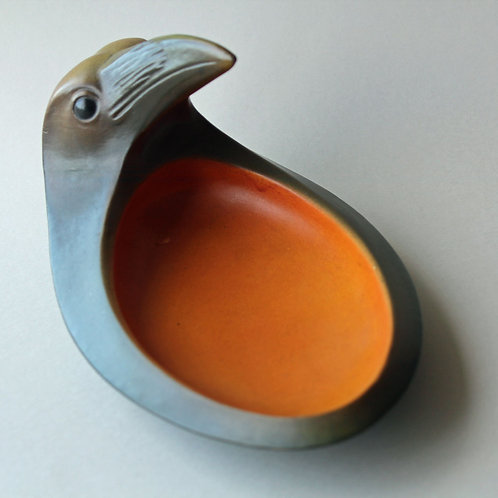 Art Nouveau Raven Bowl, Ipsen's Enke, Denmark