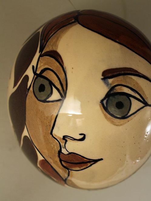 Margrethe Dybdahl Denmark, Unique  Ceramic Egg