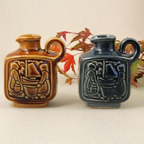 Pair of Small Vases, Michael Andersen, Denmark