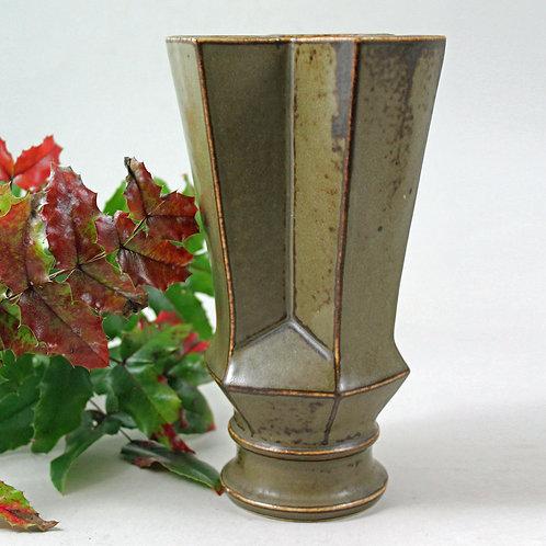 Lisa Enquist, Bing and Grondahl, Denmark. Stoneware Vase