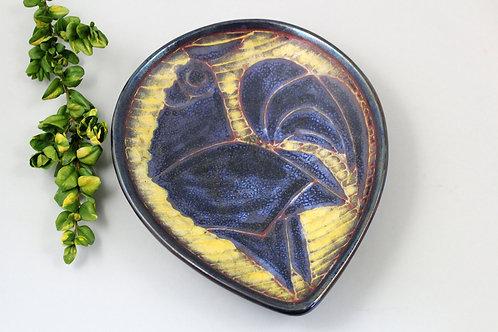 Marianne Starck for Michael Andersen, Denmark. Rooster Plate