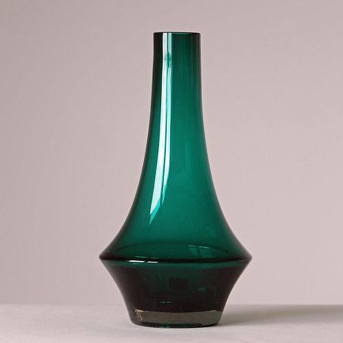 Tamara Aladin, Lasi Riihimaki, Finland. Green Art Glass