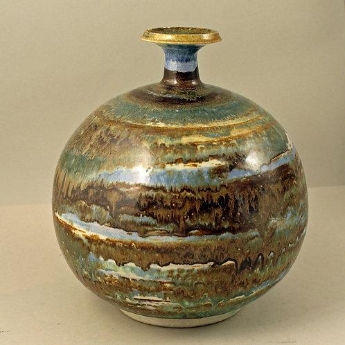 Unique  Studio Stoneware Vase, Eva Blahd, Sweden
