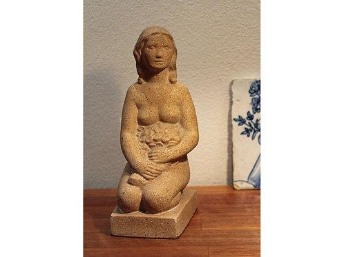 Sandstone Sculpture, Ib Just Andersen, Denmark