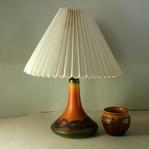 Art Nouveau Lamp Base, Ipsen's Enke, Denmark