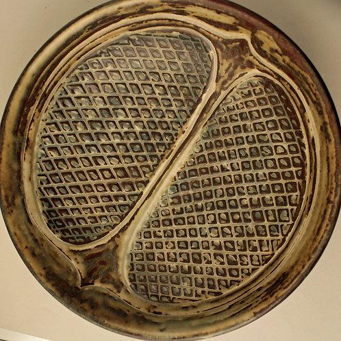 Gerd Bogelund, Royal Copenhagen. Large Stoneware Bowl
