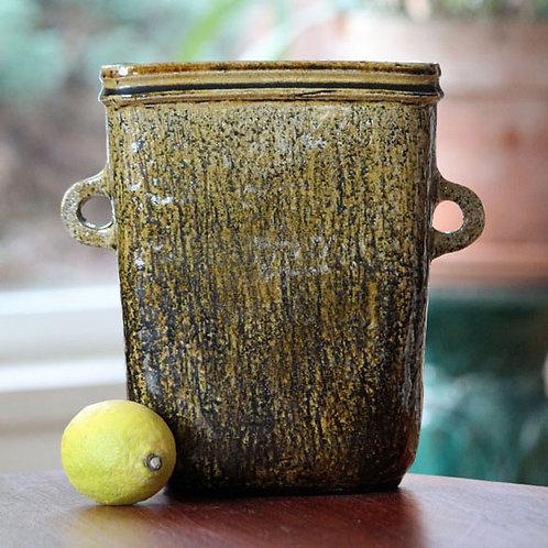Large Classic Stoneware Vase, Nils Kahler, Denmark