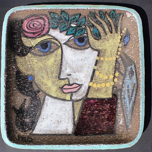 Mari Simmulson, Upsala-Ekeby; 'Fiesta'  Bowl