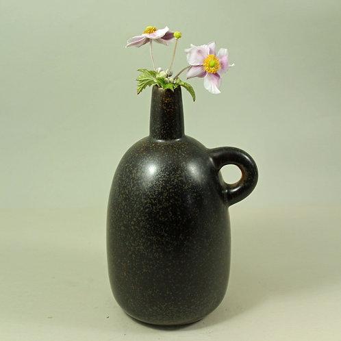 Erik Rahr, Saxbo, Denmark. Rare Stoneware Bottle Vase