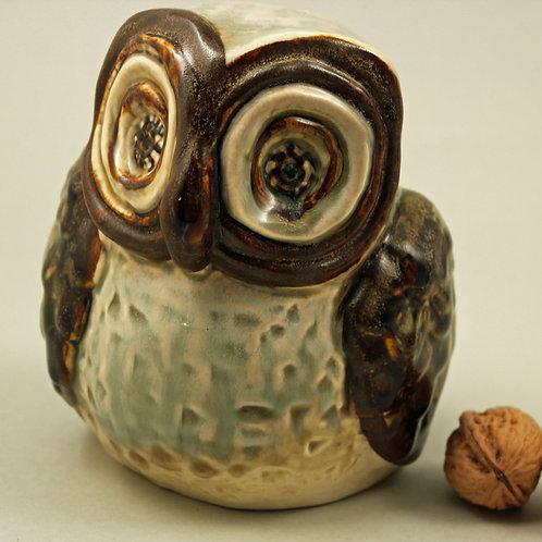 Maggi Edsbocker, Soholm, Denmark. Owl Figurine
