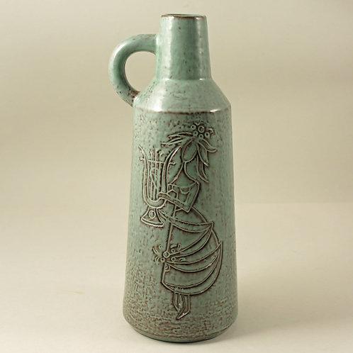 Piotr Baro for Knabstrup, Denmark. Modernist Vase