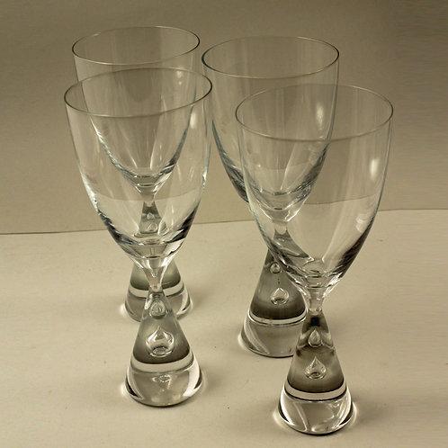 Bent Severin, Holmegaard, Denmark: PRINCESS Water/Beer Goblets
