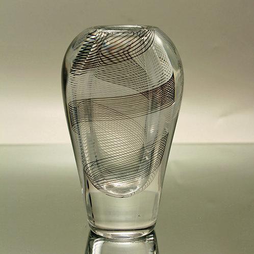Swirl Pattern Vase, Vicke Lindstrand, Kosta