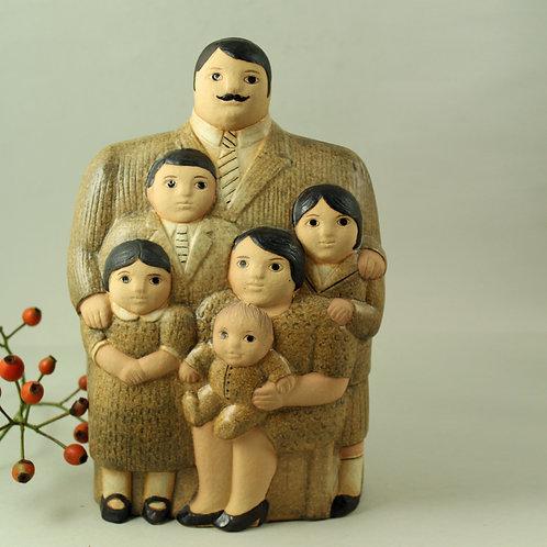 Lisa Larson, K-Studion Gustavsberg. Sculpture of Family