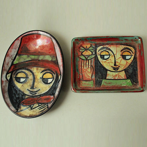 Two Small Wall Hangings. Marianne Starck for MAS