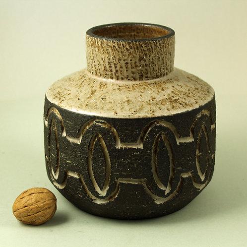 Lovemose, Denmark. Mid Century  Stoneware Vase