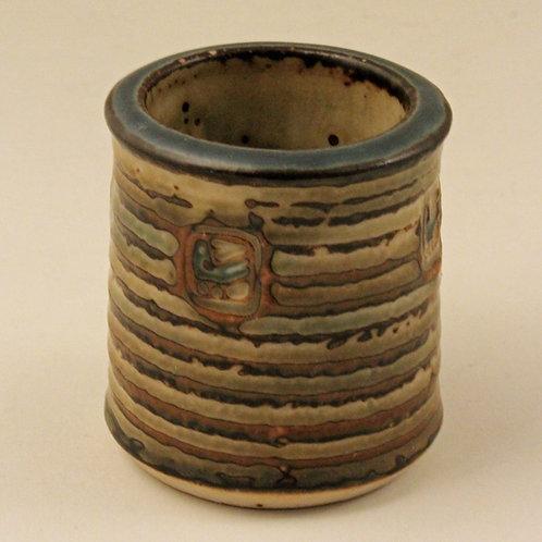 Jorgen Mogensen, Royal Copenhagen. Small stoneware Vase