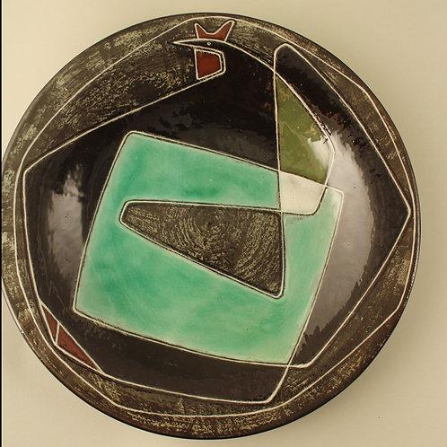 Gete Petersen Pottery Bowl, Kahler, Denmark