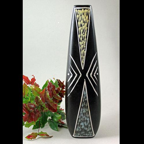 Tall Vase, Burgundia Series, Holm Sørensen, Soholm