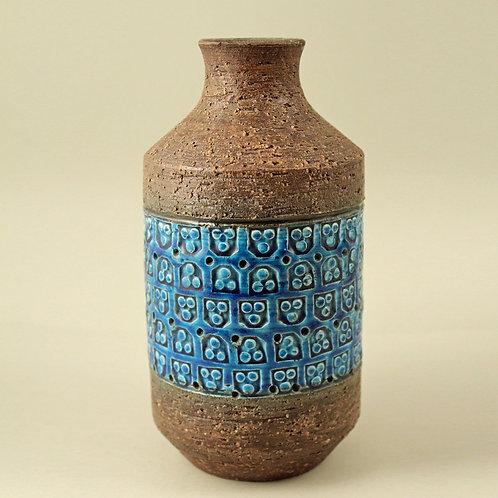 Aldo Londi, Bitossi Italy. Rimini Blue Vase