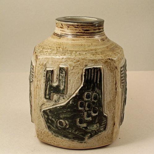 Jorgen Mogensen, Royal Copenhagen. Stoneware Vase